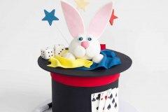 Rabbit in the Hat Cake