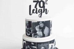 Memory Cake 70th
