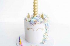 Golden Pastel Unicorn