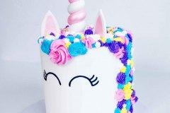 Pink Swirl Horn Unicorn