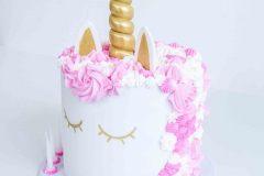 Pink & Gold Unicorn