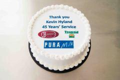 442 - PURA Milk Congratulations Cake