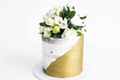 1. Gold Wedding With Florals
