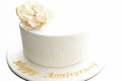 24. Edible Lace Anniversary