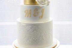 25. Monogram Three Tier