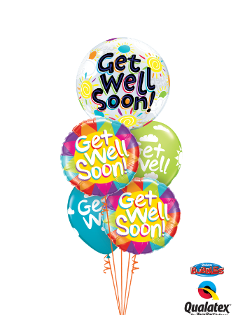 Colourful Get Well Bouquet
